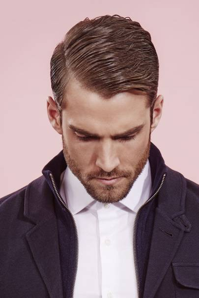 Part Of Headmasters Mens Collection This Is The Styled Classic Graduation Using Paul Mitchells Mitch Steady Grip GBP1295 And Barbers