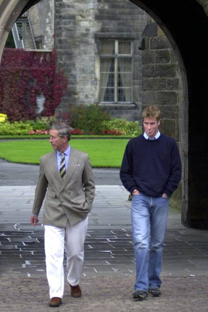 Prince William decides on St Andrews