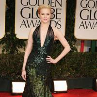 Evan Rachel Wood at the Golden Globes 2012