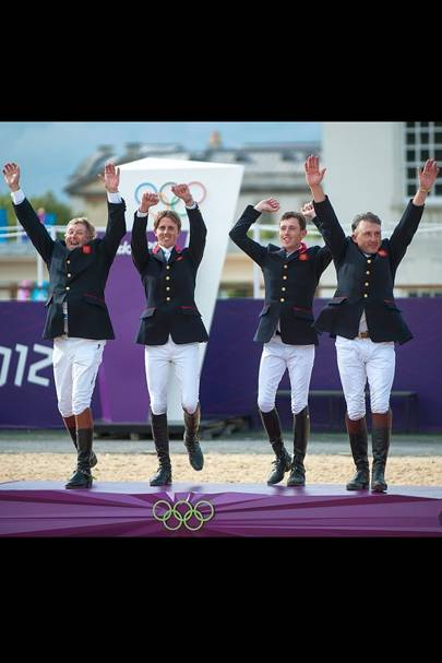 Team GB Show Jumpers