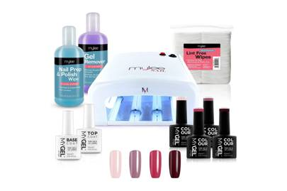 Best at-home gel nail kit for autumn hues