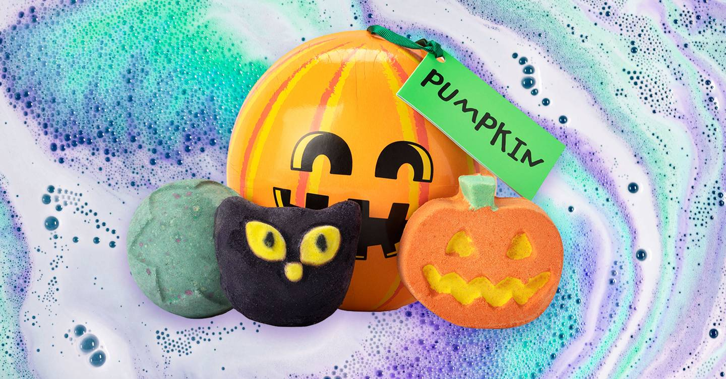 Is it too early to get excited about LUSH's Halloween bath range?