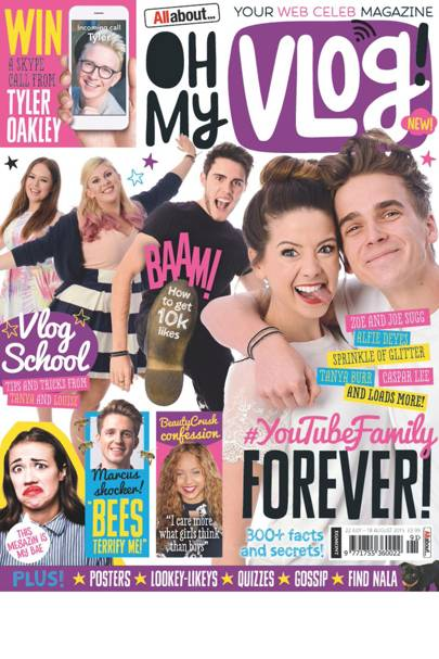 Oh My Vlog! Introducing the vlogger magazine