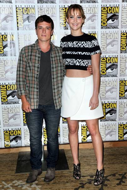 Josh Hutcherson & Jennifer Lawrence