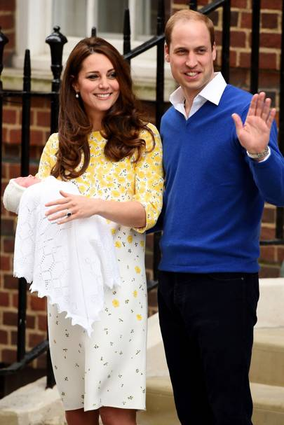 Princess Charlotte is born