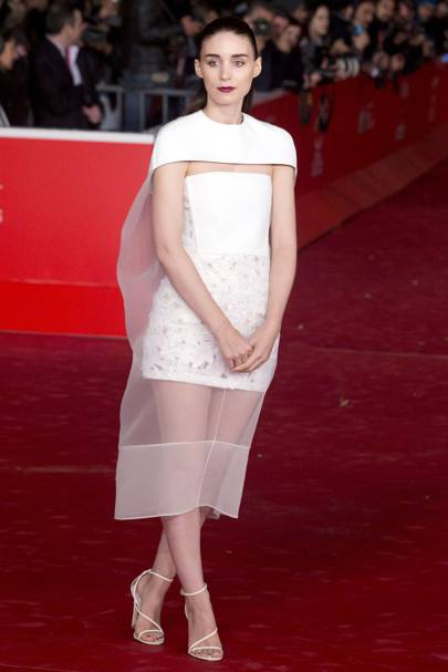 Rooney Mara at the Rome Film Festival