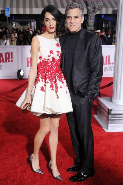 10. Amal and George Clooney