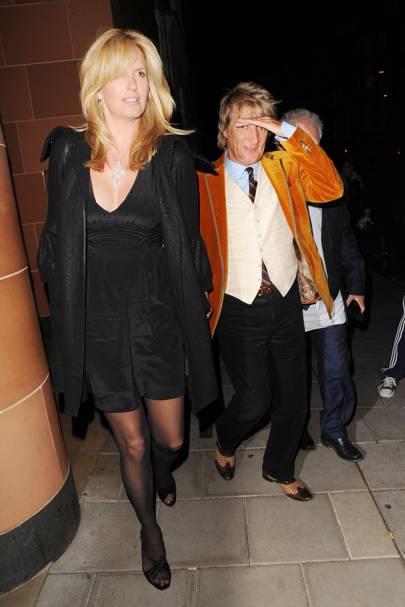 Rod Stewart & Penny Lancaster