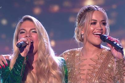 Louisa and Rita's duet