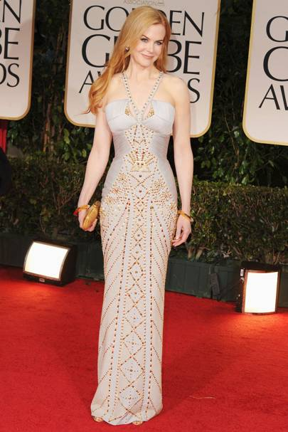Nicole Kidman at the Golden Globes 2012