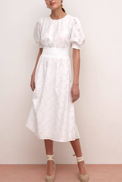 NOBODY'S CHILD AT M&S - BRODERIE ANGLAISE DRESS