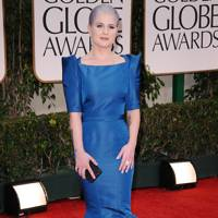 Kelly Osbourne at the Golden Globes 2012