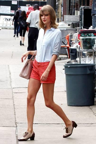 Taylor Swift's brogues