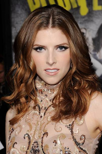Ombre sombre hair dip dye celebrity hairstyles glamour uk thinking of getting a dip dye but want to start subtle follow anna kendricks lead and opt for an oh so chic ombre fade out we love annas look urmus Images