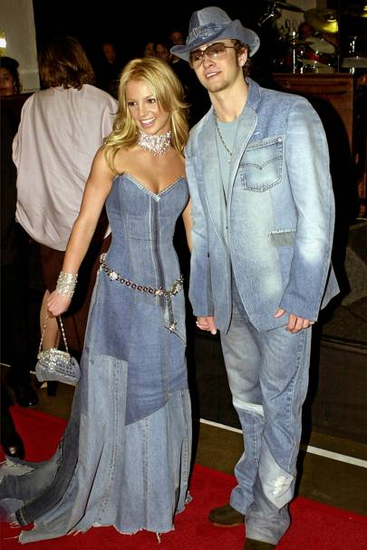 Britney Spears and Justin Timberlake went public
