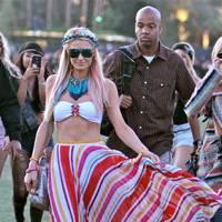 Paris Hilton at Coachella 2012