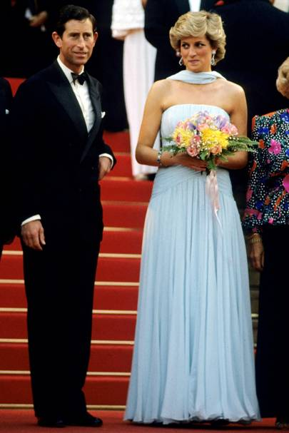 Princess Diana - Cannes 1987