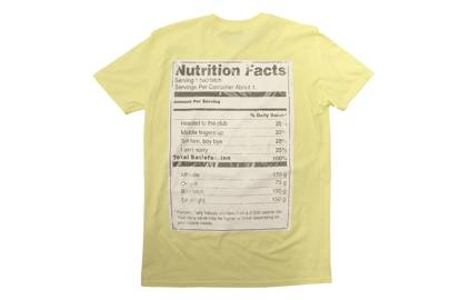 Lemonade recipe tee