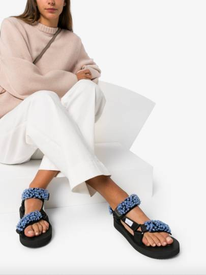 THE STATEMENT SANDAL