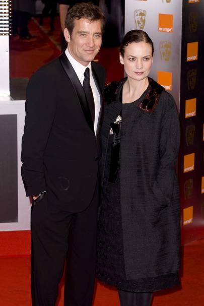 Clive Owen & Sarah-Jane Fenton