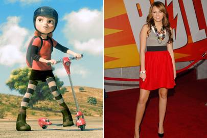 Miley Cyrus as Penny in Bolt