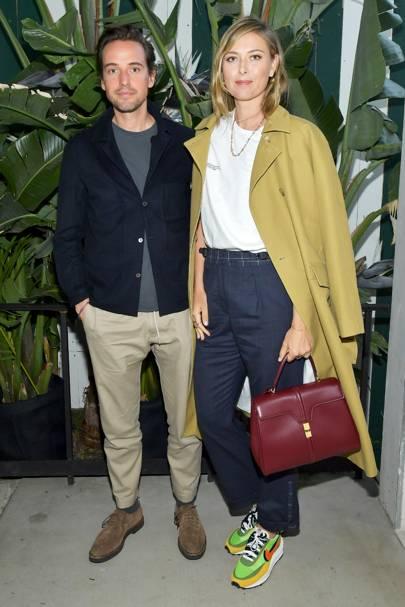 Maria Sharapova & Alexander Gilkes