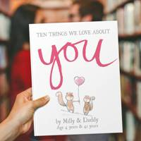 Anniversary Gift Ideas: the personalised book