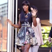 Kelly Rowland steps up to the challenge
