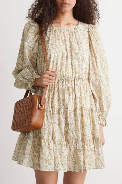 & Other Stories Sale Floral Mini Dress