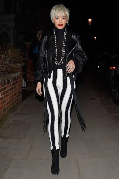 23. Rita Ora (Up 15)