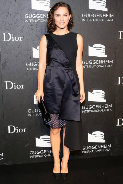 Natalie Portman at the Guggenheim International Gala