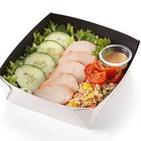 Chargrilled Chicken, Roast veg and Grains Salad, £3, Greggs