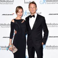 December: Jenson Button & Jessica Michibata