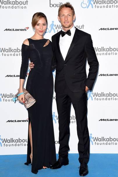 December: Jenson Button & Jessica Michibata