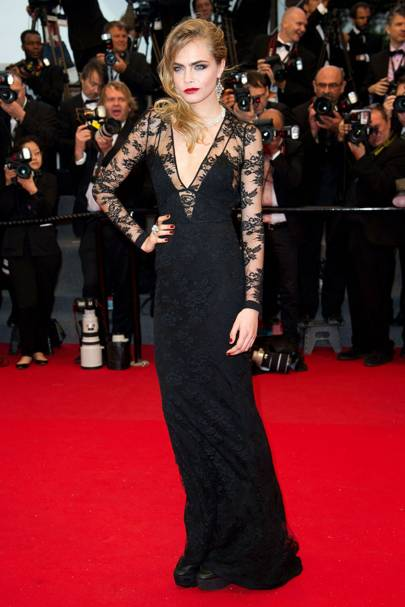 Cara Delevingne - Cannes 2013