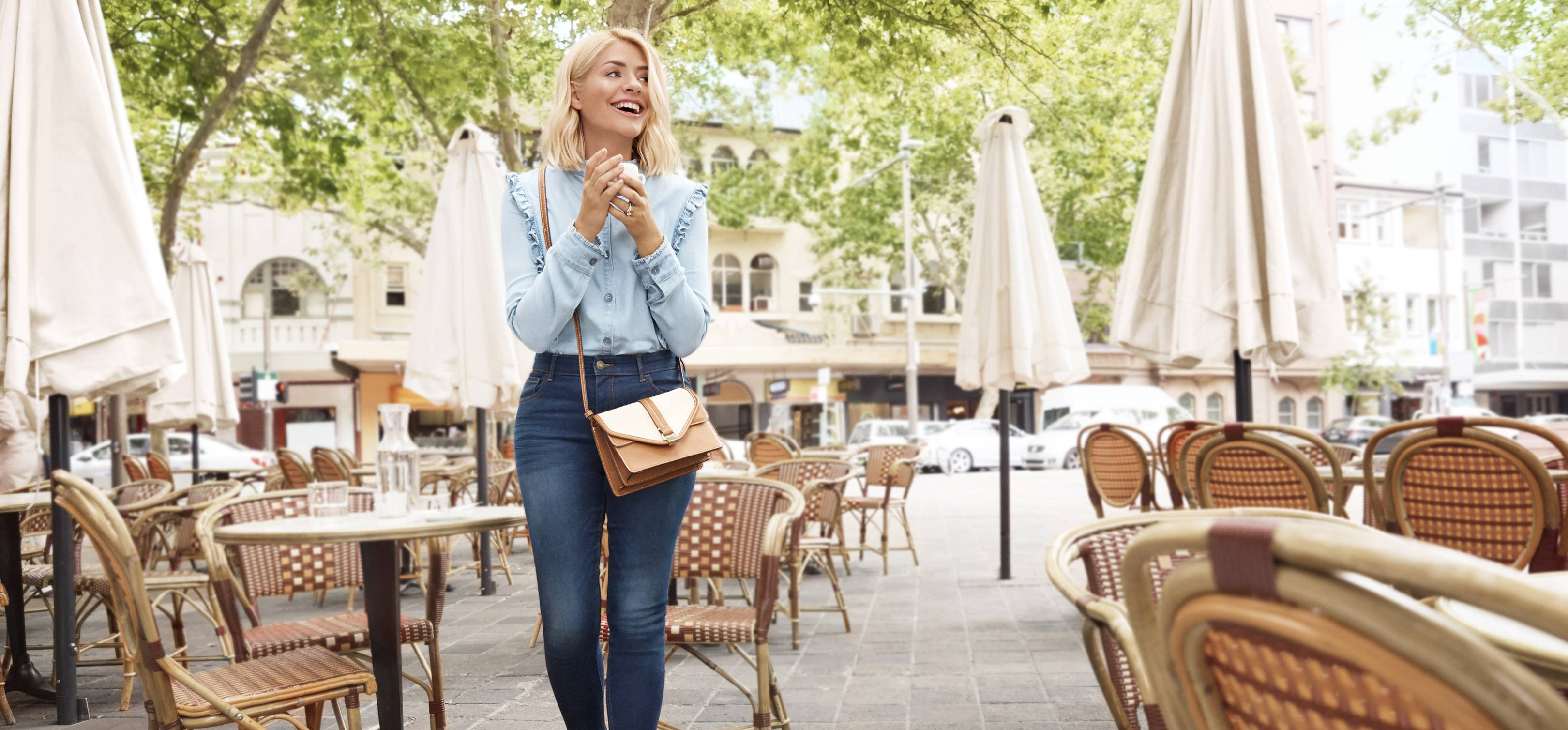 fbb6d9451 This shirt from Holly Willoughby's new M&S collection sold out in just  minutes