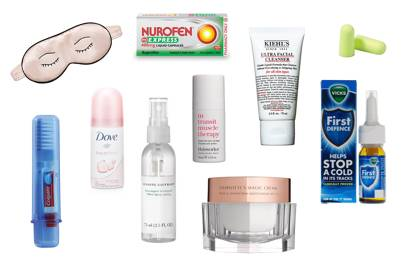 10 Under 10: Travel-Sized Beauty Essentials For SpringVacation recommend