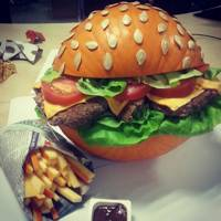 Burger Pumpkin