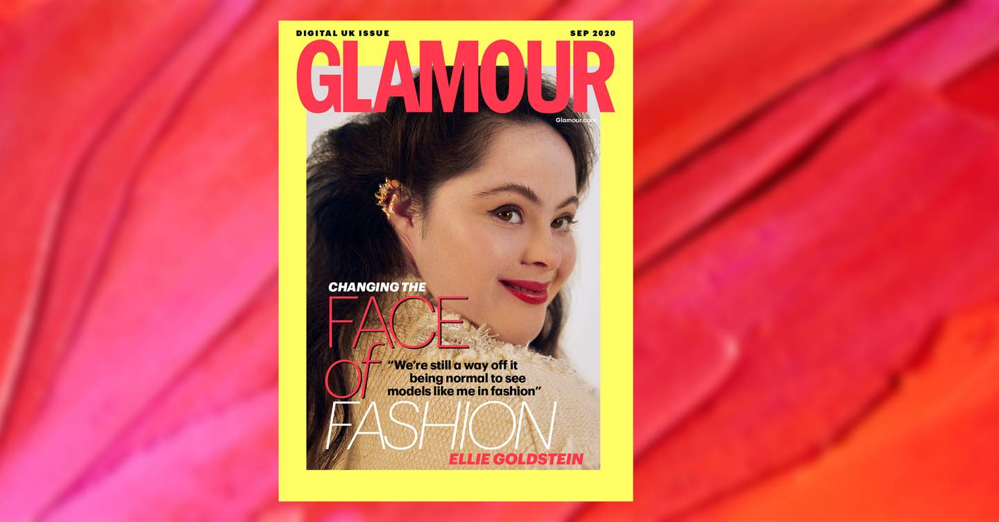 'I want to represent everyone with a disability & show myself off to the world': Ellie Goldstein covers GLAMOUR's September fashion digital issue