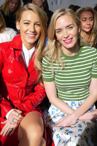 Blake Lively and Emily Blunt
