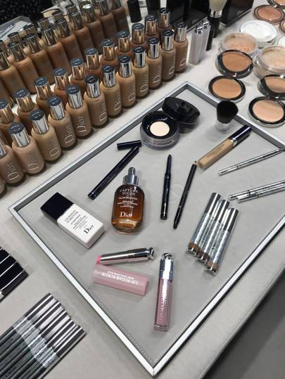 'Midnight makeup' is the hot trend we discovered backstage with Dior Beauty at Paris Fashion Week. Here's how to get the look...