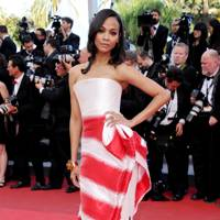 DO #4: Zoe Saldana at the Cannes Film Festival, May