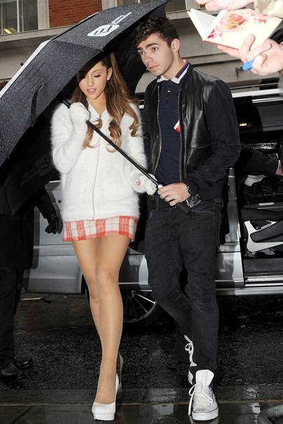 August: Nathan Sykes & Ariana Grande
