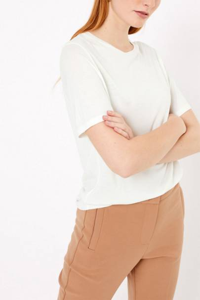 Marks and Spencer White T-Shirt