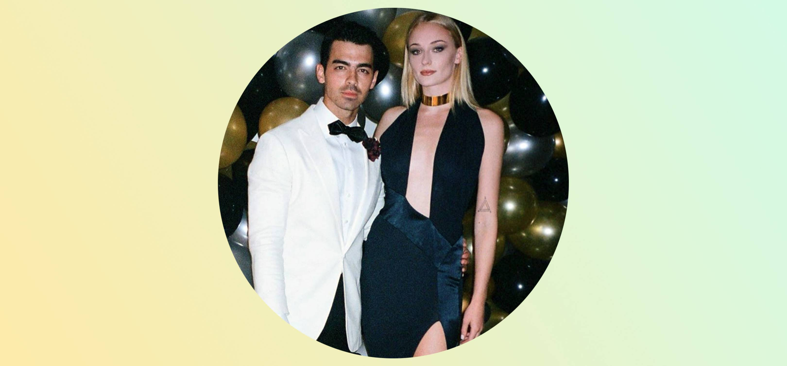 Joe Jonas had a 007-themed party and Sophie Turner looked ah-mazing