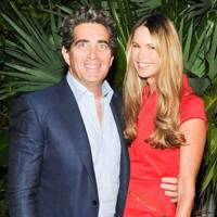 June: Elle Macpherson and Jeff Soffer