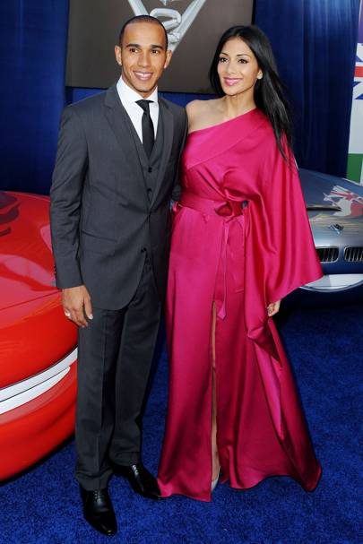 29. Nicole Scherzinger and Lewis Hamilton