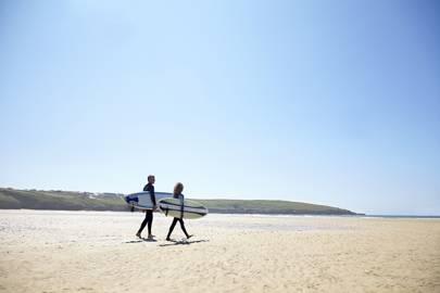 Take up surfing