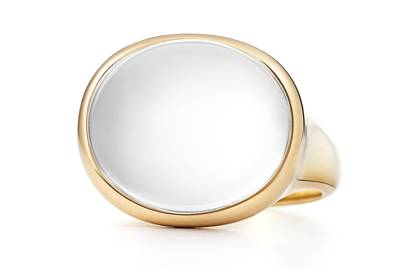 Victoria Beckham-Inspired Engagement Rings - Opaque Stone