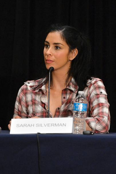 Sarah Silverman at Comic-Con 2012